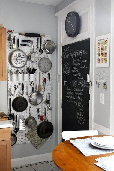 Include a Chalkboard in the kitchen corner - stunning kitchen remodel ideas