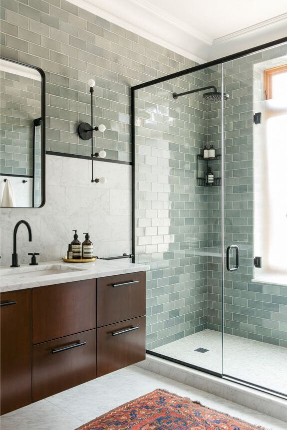 Sensational Gray Subway Tile