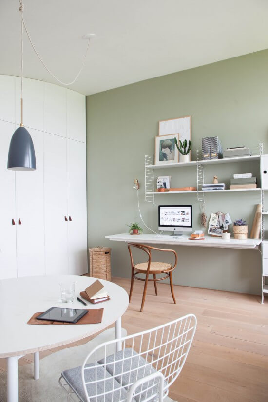 Lovely Light Green Wall