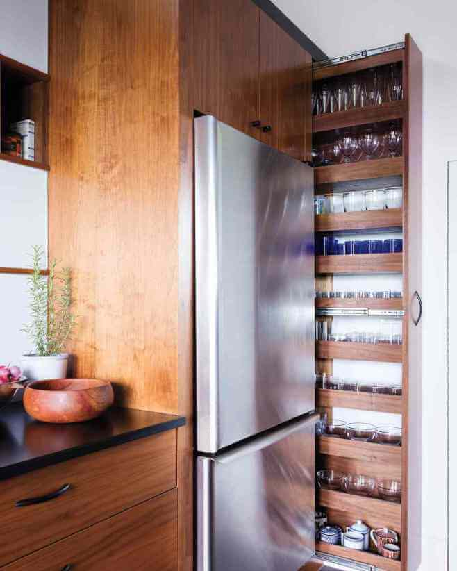 Take Advantage of Overlooked Nooks - Kitchen remodel