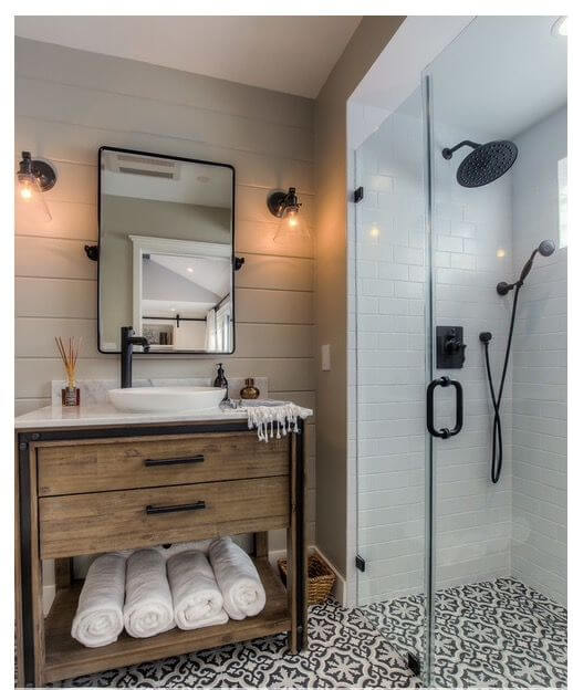 Fantasticfarmhouse gray bathroom decor ideas