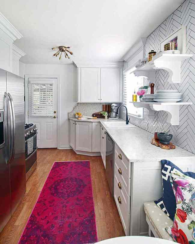 Maximizing space in small kitchen