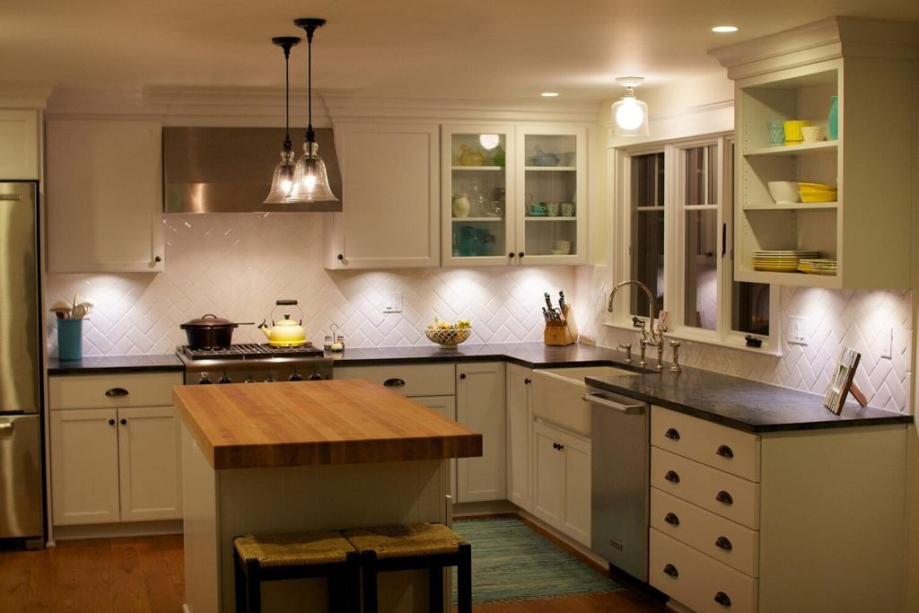 Stunning under cabinet lightings