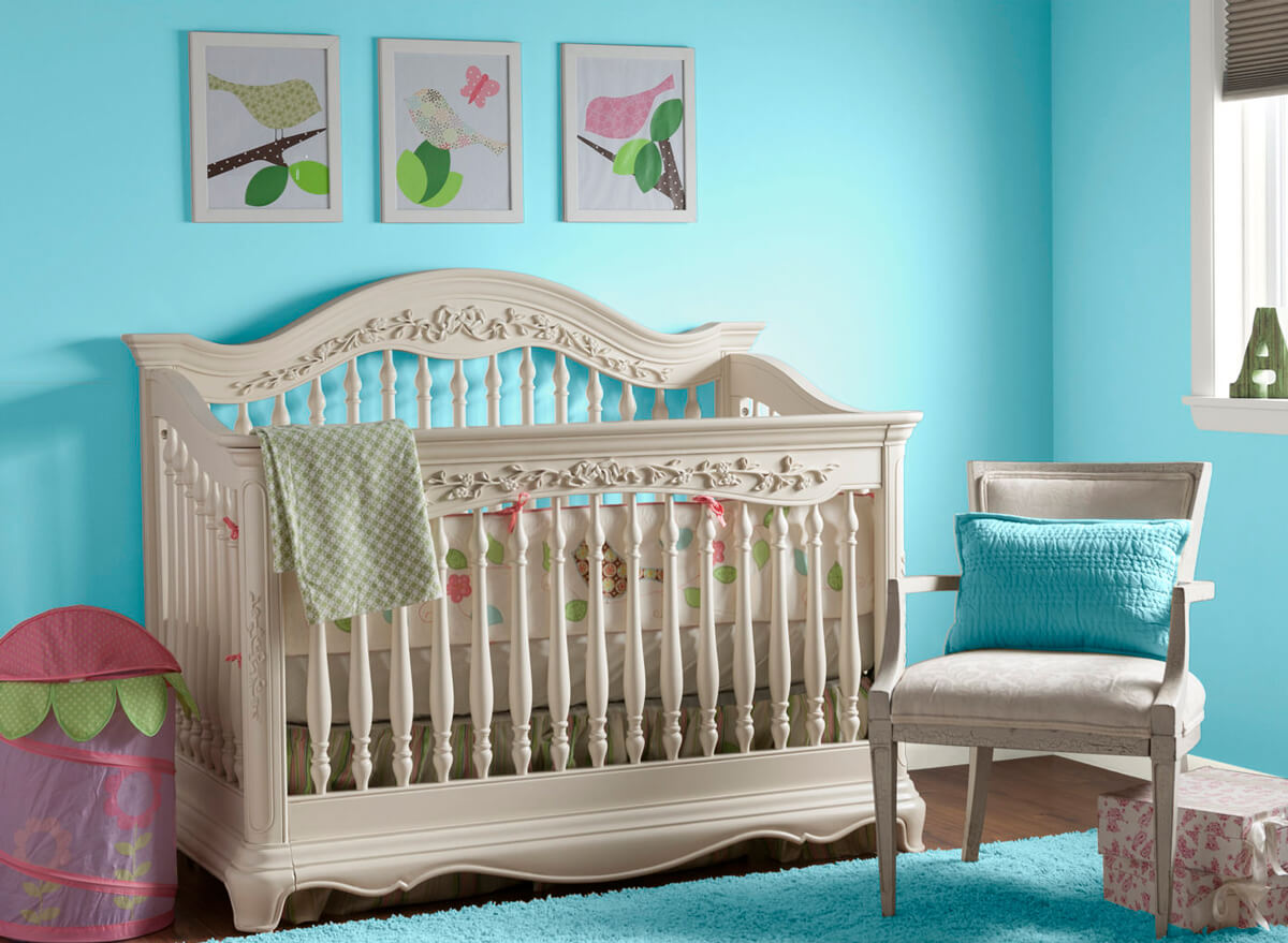 Pink and Turquoise Room Ideas for Baby Girl