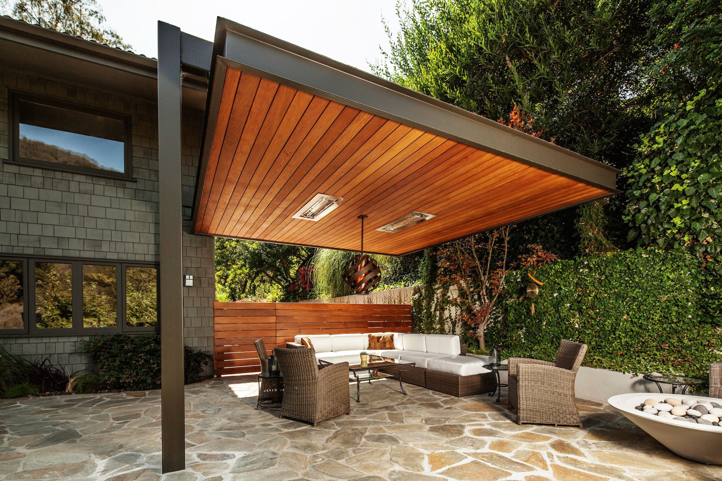 Patio Roof with Modern Design