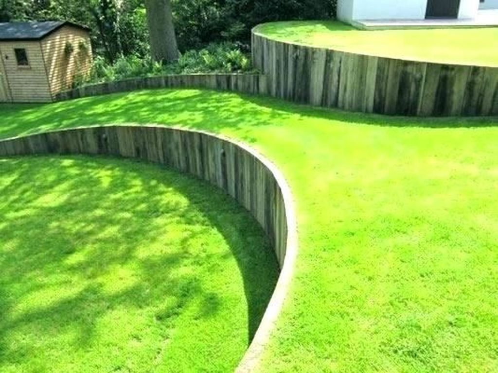 Curves for Hillside Landscaping Ideas