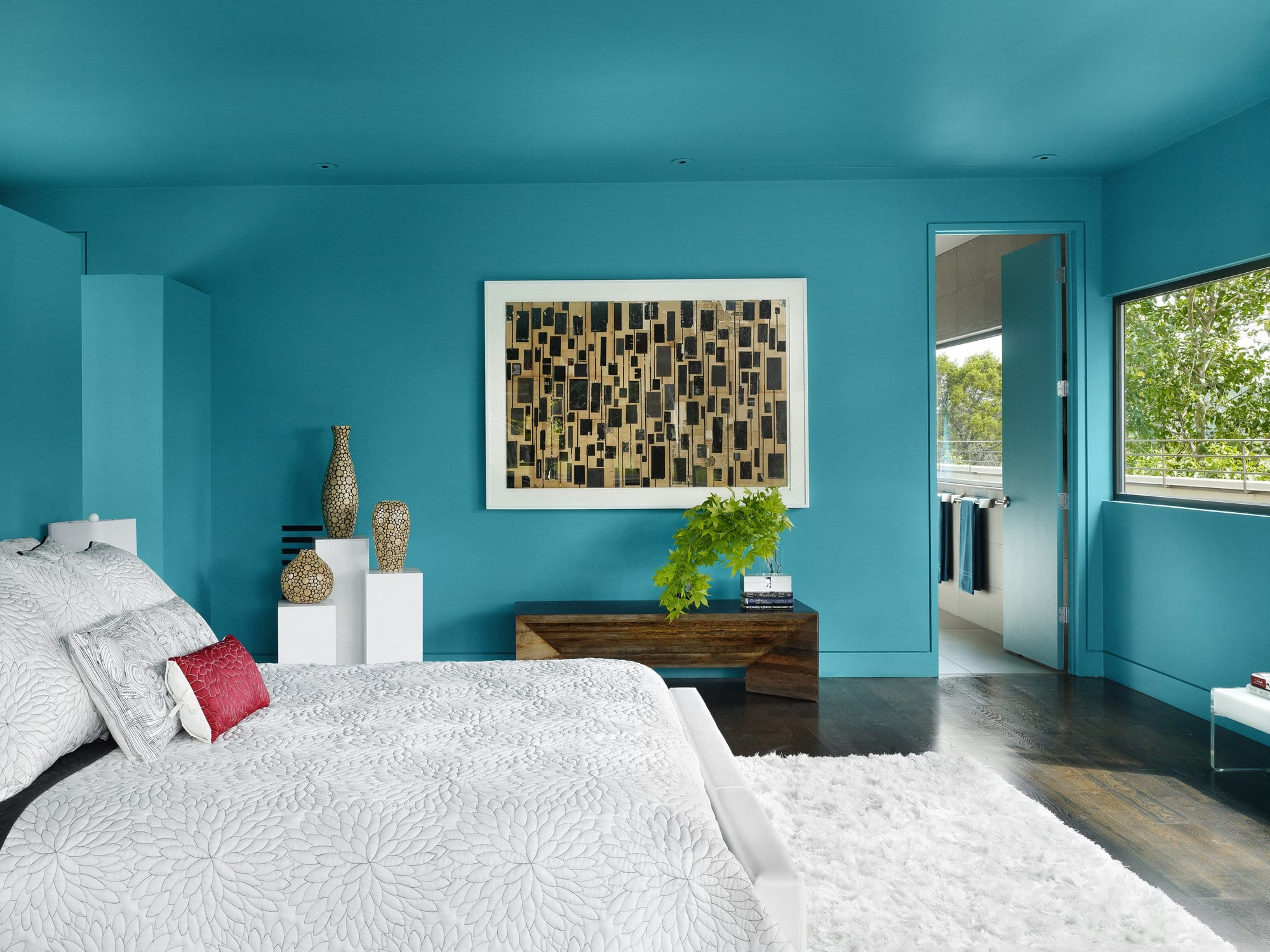 Turquoise Walls