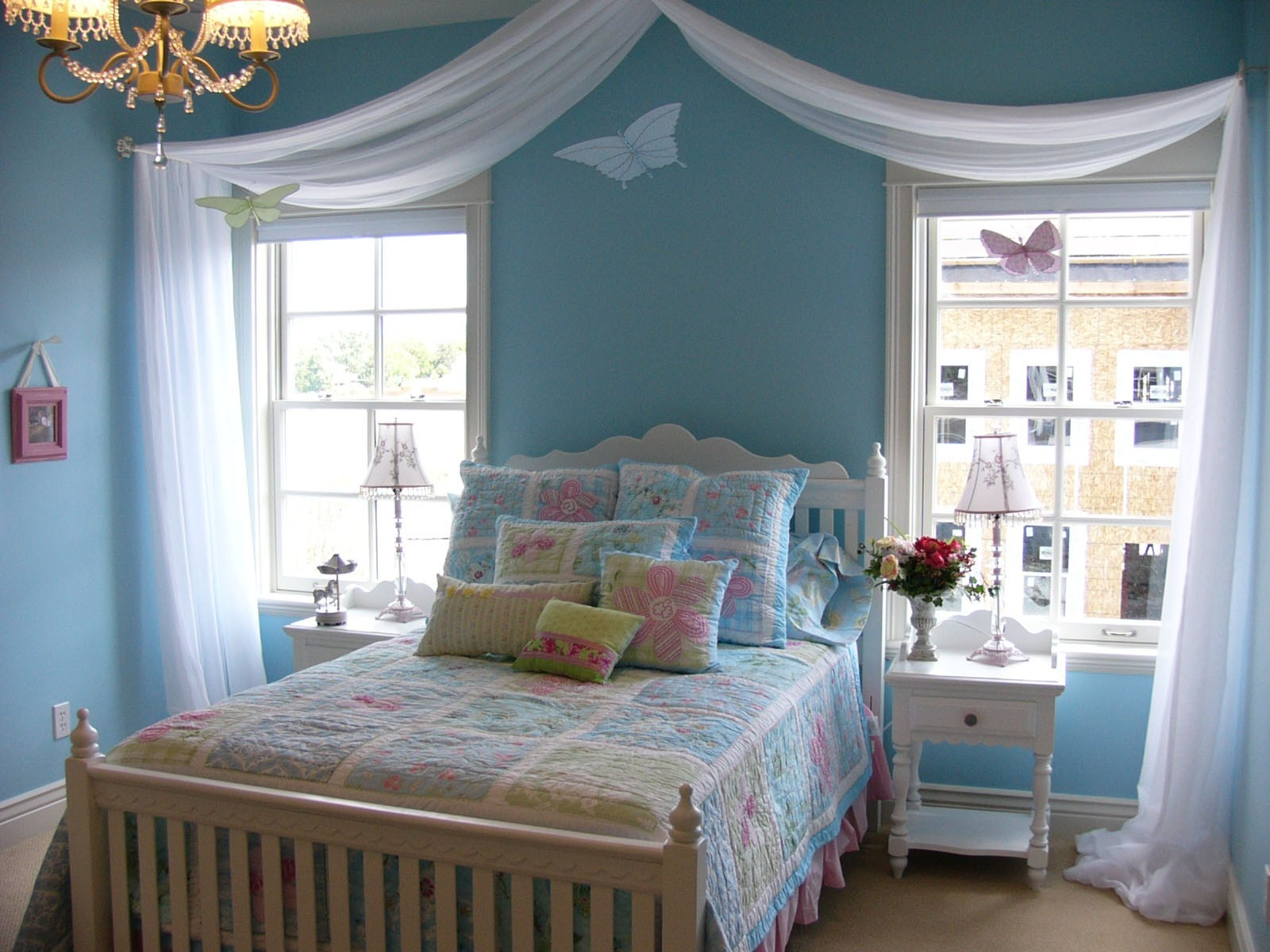 Turquoise Bedroom Ideas for Little Girls