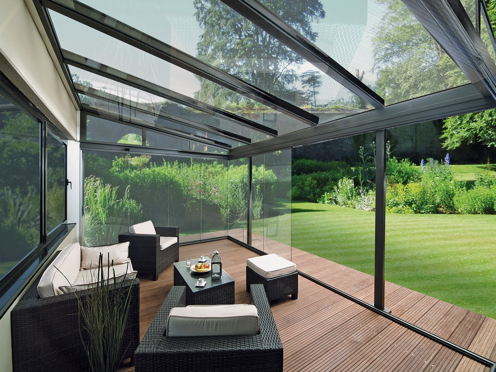 Tempered Glass Patio Roofing