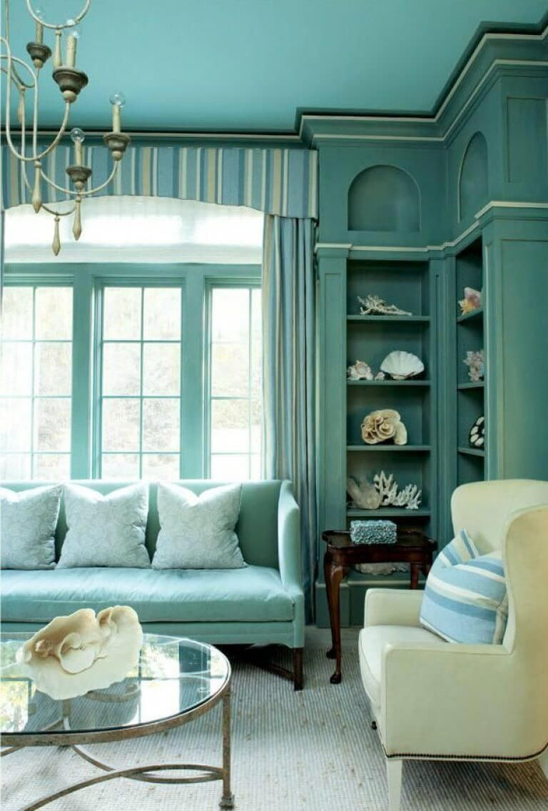 Muted Turquoise Room Ideas