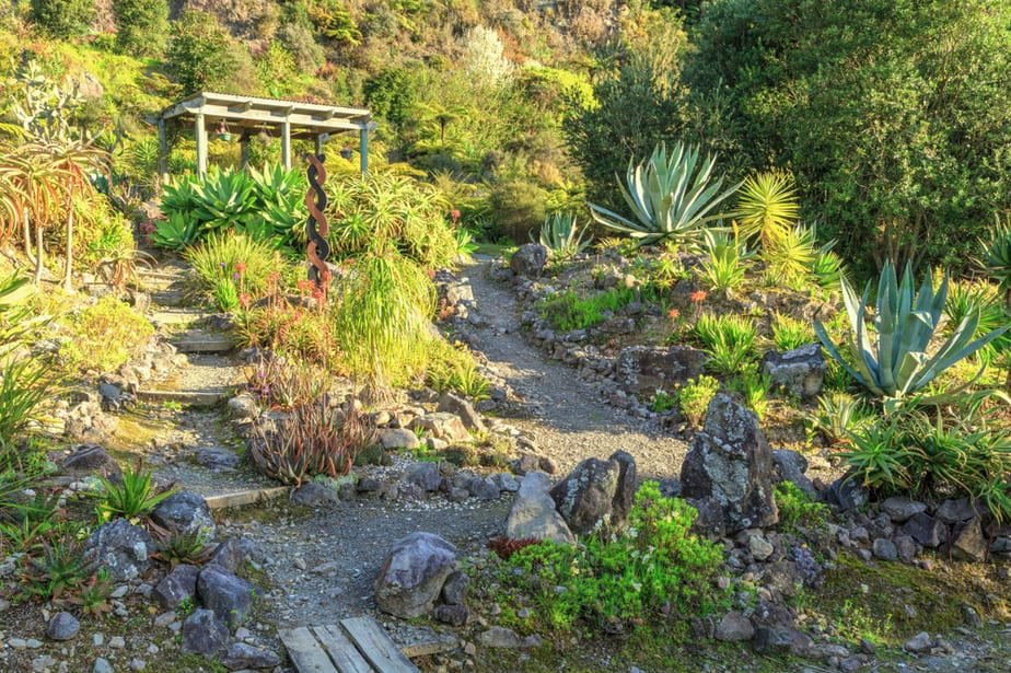 Rocks Hillside Landscaping Ideas for Garden